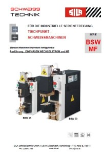 Deckblatt Serie BSW-MF